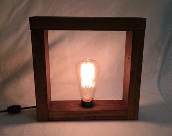 Vintage Box Lamp