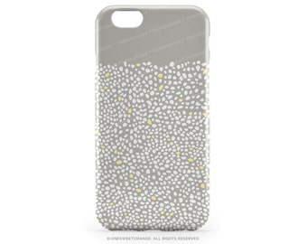 iPhone 6S Case Polka iPhone 6S Plus Case Polka Dots Yellow Polka iPhone 5s Case Gray iPhone 6 Case iPhone 6 Case Polka iPhone 5C Cover T50