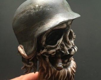 Frontschwein Shiftknob (Gray helmet)