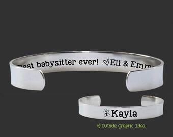 Babysitter Gift | Gift for Babysitter | Nanny Gift | Best babysitter ever | Personalized Gifts | Korena Loves