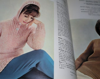 1951 Handcraft with Dennison Crepe PaperCampus Hand Knits for Men and Women Bear Brand