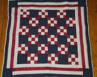America Quilt Red, White, and Blue   LDT025