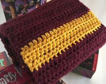 Harry Potter Inspired crochet scarf