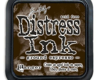 Ranger - Color of Month 2015 - Tim Holtz - Ground Espresso - Distress Ink Pad