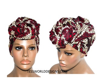 Scarves/ head wraps/ African Head wraps/ African Fabric/ African hair accessory/ African Head scarf/ HT139