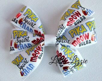 Pika Pika pinwheel hair clip girl toddler