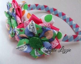 Headband set, interchangeable, girl gift, ben and holly