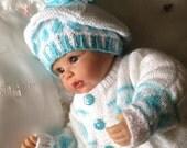 Baby Boys Hat &  Coat Set