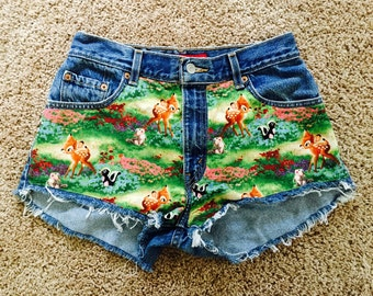 FLASH SALE! One of a kind Bambi 27/28 High Waist Levi Shorts