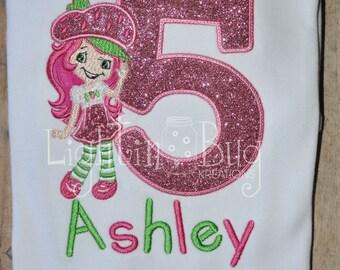 Strawberry Shortcake Birthday Shirt
