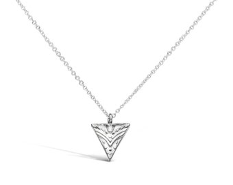 Triangle Sterling Necklace