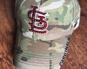 St. Louis Cardinals Special Forces Camo Bling Hat