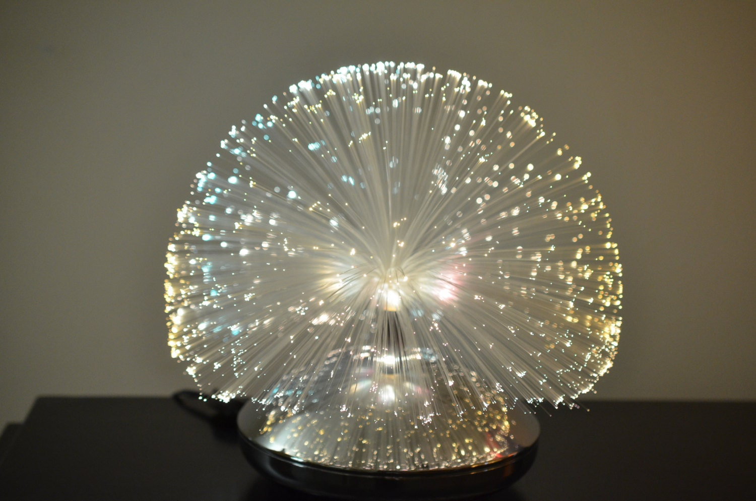 1970 S Fantasia Fiber Optic Lamp Galaxy Model 2001 By
