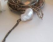 Heart Selenite, Tiffany method, Selenite Crystal Healing Heart, Selenite  shiny stone,