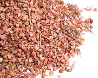 Heather Flowers, Organic - Delicate, Tiny, Pink-Mauve Blooms - Calluna Vulgaris - Scottish Pict