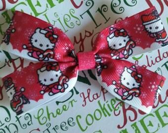 Kitty Wonderland hair bow