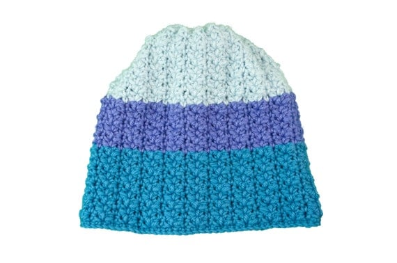 The Risum Hat - crochet pattern - size from 12 months to adult