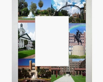 florida state university fsu picture frame photo mat unique gift graduation school personalized