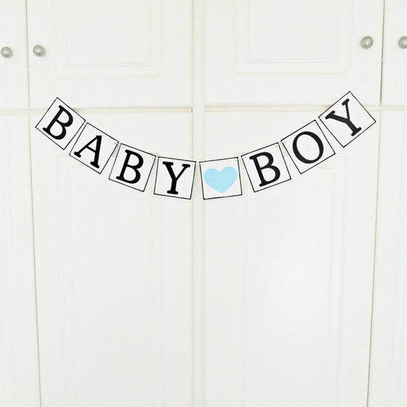 FREE SHIPPING, Baby Boy banner, Baby shower decorations, Baby gender announcements, Baby photo prop, Gift for mother and baby boy, Turquoise