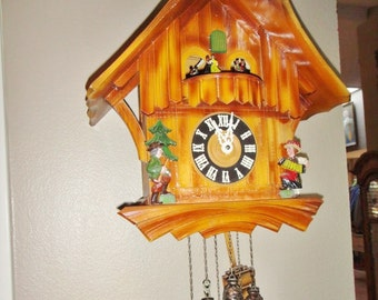 Vintage Mayer Cuckoo Clock Germany