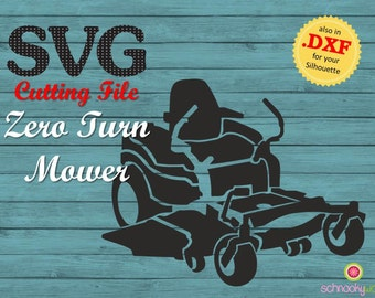 SVG Zero Turn Mower, SVG Lawn Mower, Residential Mower, Commercial Mower, Riding Mower, Landscape Gardening, Tool, Machine