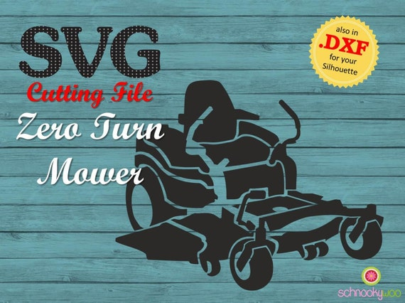 Svg Zero Turn Mower Svg Lawn Mower Residential Mower