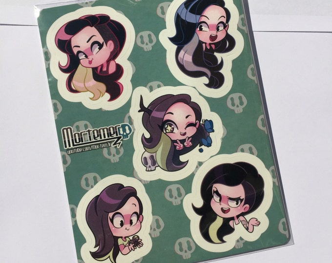 Mortemer sticker sheet!!