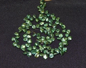 Green Nugget Pearls