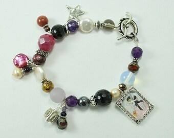 Bunny Rabbit Artisan Charm Bracelet