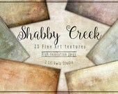 Shabby Creek - Fine Art Textures, Photoshop Textures