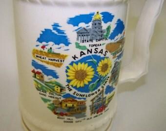 Kansas Souvenir Mug Kansas Stein