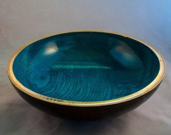 Decorative fruit bowl in Ash