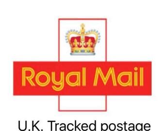 UK tracked postage