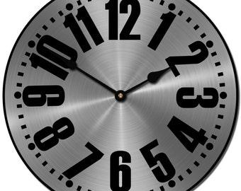 Heavy Metal Wall Clock 3