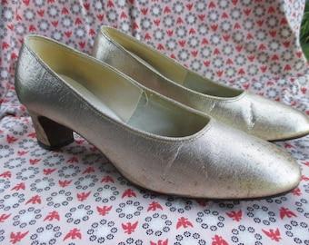1960 Gold Heels