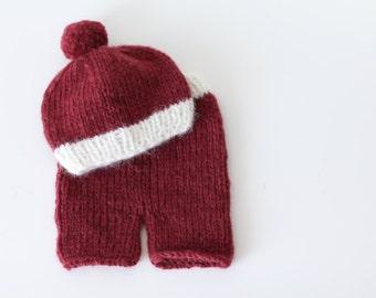 Newborn set - Newborn props –  Baby props – Newborn boy – Photo props - Newborn boy hat – Baby boy hat – Photo prop hat - Baby boy props