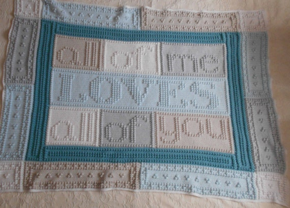 Loves Pattern For Crocheted Blanket