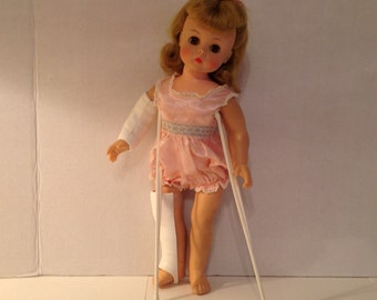 Vintage 1956 Madame Alexander Marybel The Doll That Gets Well with Original Box