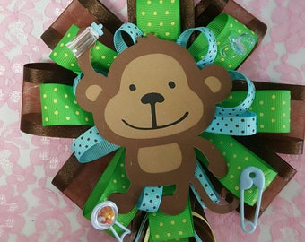 mom to be monkey theme