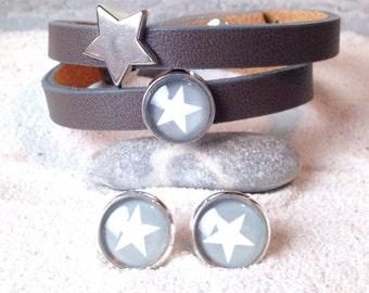 Jewellery star gray