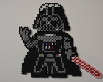 Darth Vader....Perler Bead Magnet