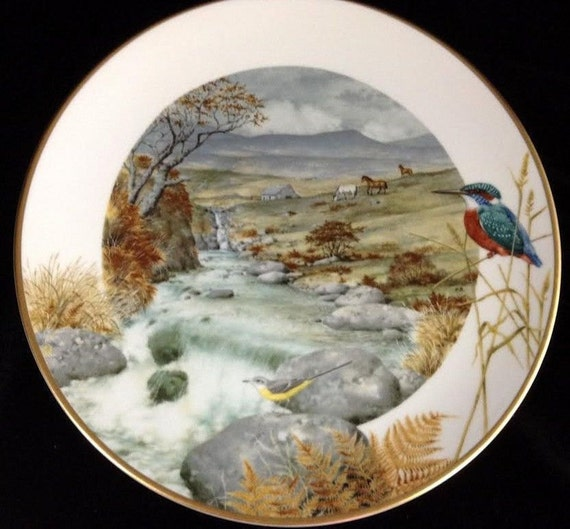 Peter Barrett Plates Country Year English Countryside  Lot of  12 Limited Edition Vintage Plates