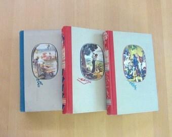 Little Women,Little Men & Jo's Boys Trilogy- Illustrated Junior Library- Hardcover-Classic children's books - Save our classics!!