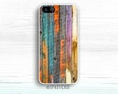 Wood Print iPhone 6S Case, Paint iPhone 5S, iPhone 5 Case, iPhone 6S Case, iPhone 6 Plus Case, Colorful iPhone 6 Case, iPhone 5S Case, 5C
