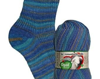 Opal 4ply sock yarn - Shafpate VIII Shade 9201 'Sheepdog' 100g