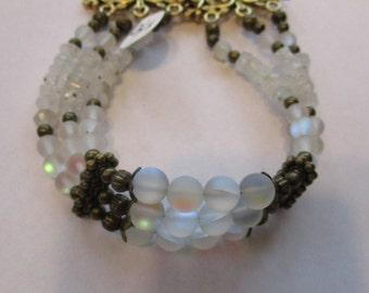 MOONLIGHT GARDEN Triple Strand Bracelet