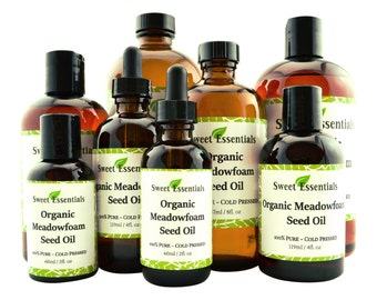 Organic Meadowfoam Seed Oil | Various Sizes  | 100% Pure | Cold Pressed | For Hair. Skin & Nails | By Sweet Essentials