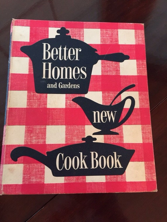 Pink Better Homes And Gardens Cookbook 1960 39 S