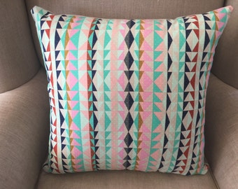 Cushion Cover/Pillow in geometric triangular design from the Mesa collection by Alexia Marcelle Abegg