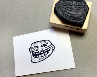 Internet Troll Rubber Stamp